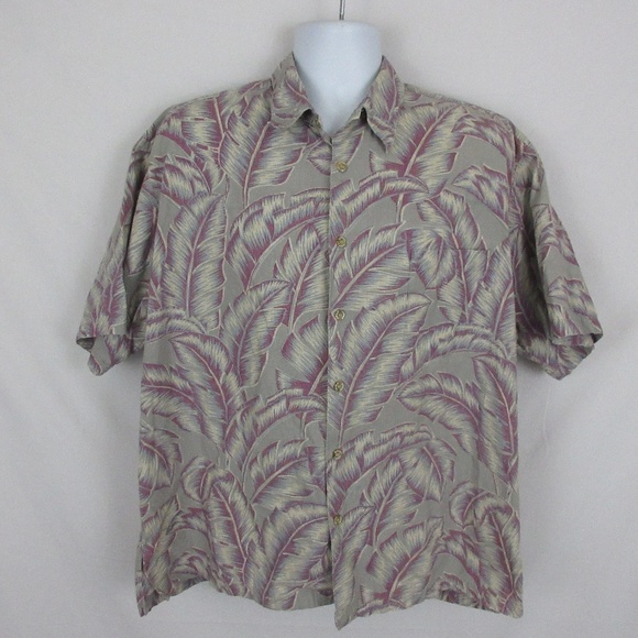 Cooke Street Other - Cooke Street Hawaiian Shirt Muted Colors
